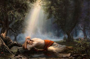 Jesus-in-Gethsemane-590