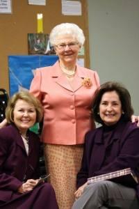 Gail, Kathy, me